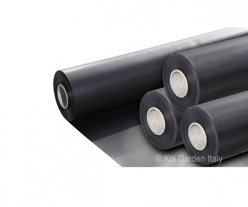 Telo nero in PVC 1,0 mm